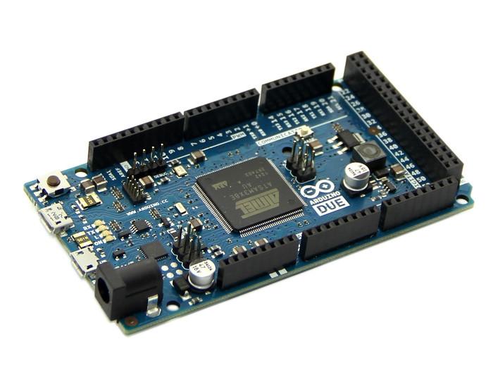 Ардуино DUE R3-CH340 ATMEGA16U2/CH340G ATSAM3X8E ARM с USBA-USBB шнуром Модуль