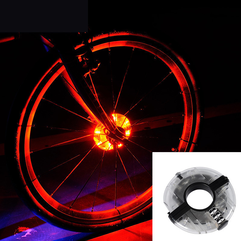 """Диодная иллюминация колеса / спиц велосипеда на втулку """"UFO"""""""