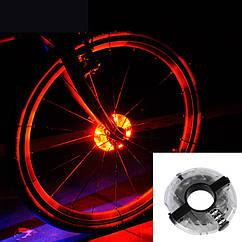 """Діодна ілюмінація колеса / спиць велосипеда на втулку """"UFO"""""""