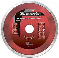 Диск алмазный отрезной сегментный 125 х 22,2 мм., сухая резка MTX Professional (731739)