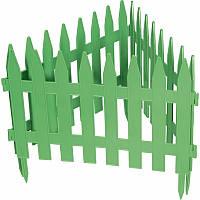 """Забор декоративный """"Рейка"""", 28х300 см, зеленый PALISAD 65005"""