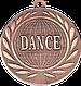 "Медаль наградная танцевальная ""DANCE"" 50 мм. DI5000R, фото 3"