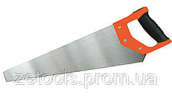 Ножівка по дереву з комб. рукояткою і розжареними зубами, 7TPI, 450 мм Miol 99-162