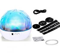 Ночник Настольный светильник Magic Diamond Projection Lamp