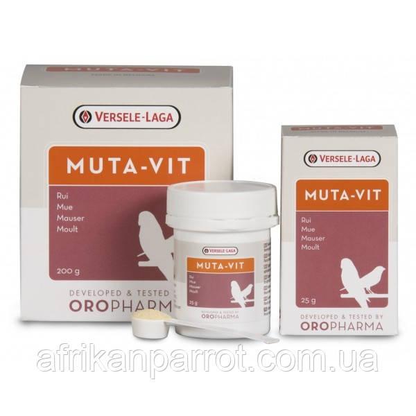 Витамины для птиц Versele - laga. Muta-vit витамины и аминокислоты для птиц