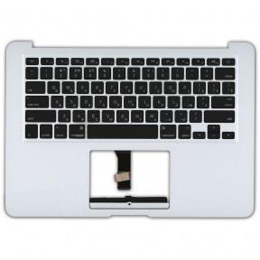 Клавиатура для ноутбука Apple MacBook Air 2012 A1466 с топ панелью горизонтальный энтер черный
