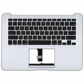 Клавиатура для ноутбука Apple MacBook Air 2012 A1466 с топ панелью горизонтальный энтер черный, фото 2