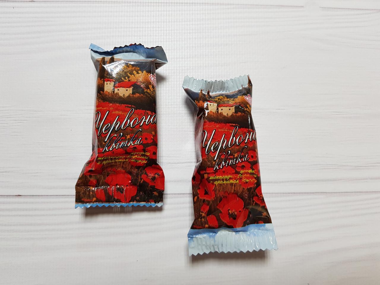Цукерки Червоний квітка 2,3 кг. ТМ Слава