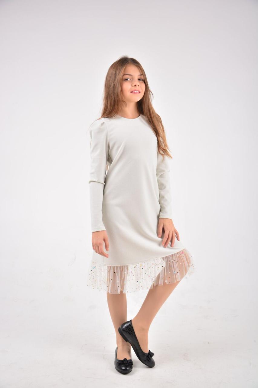 Платье Эльза белый София Шелест, 122