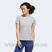 Женская футболка Adidas Go-To medium grey heather FL2340 2020