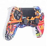 Захисний чохол на джойстик контролер DualShock для Sony PlayStation 4 PS4 PRO Slim (Графіті), фото 3