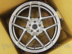 """Диски BRIXTON RF7 Radial Forged цвет Satin Sterling Silver 19"""" Audi A3/ S3 / RS3"""