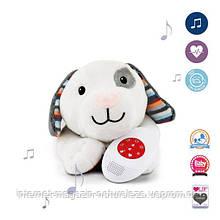 Мягкая игрушка Zazu собачка Dex с имитацией серцебиения