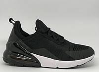 Кроссовки мужские в стиле Nike Air Max 270 8219-1 черные