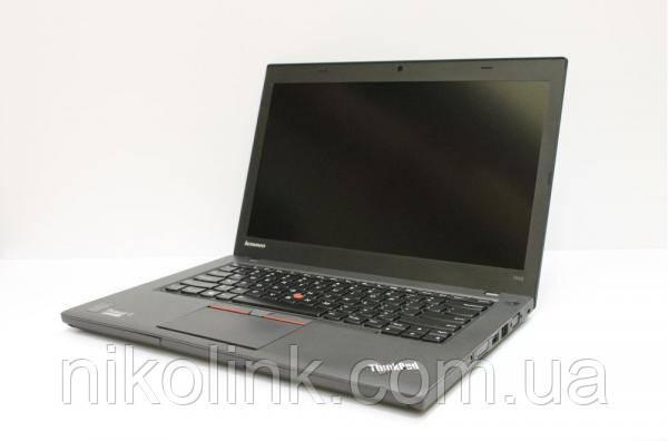 """Ноутбук Lenovo ThinkPad T450 14""""-дюймов (i5-5300U /  память 8Gb / новый SSD 240Gb), б/у"""