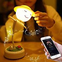 Ночник 3DTOYSLAMP Mr Boogie Bluetooth колонка 3 цвета свечения + регулировка яркости