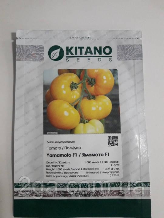ЯМАМОТО (КС 10) F1 / YAMAMOTO (KS 10) F1 — Індетермінантний Томат, Kitano Seeds , 1000 насіння