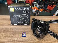 Фотоапарат Nikon Coolpix L810 Black