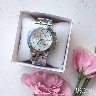 Женские наручные часы в стиле Pandora серебро. Наручные кварцевые часы из нержавеющей стали. Годинник жіночій, фото 2
