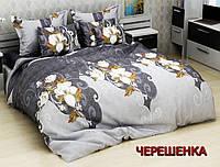 """Семейный набор хлопкового постельного белья из Бязи """"Gold"""" №159690 Черешенка™"""