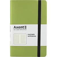 Книга записная Partner Soft, 125*195, 96л, кл, сал, AXENT, 8206-09-A