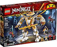 Lego Ninjago Золотой робот 71702