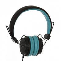 Наушники Sonic Sound E111 black/blue+mic