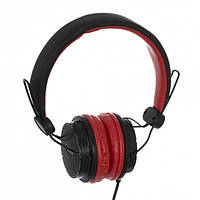 Наушники Sonic Sound E111 black/red+mic