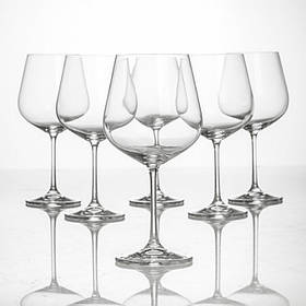 Набор бокалов Bohemia Dora Strix 600 мл для вина 6 шт (1SF73 600)