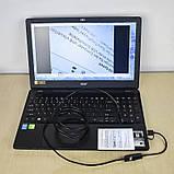 Эндоскоп 3 вида интерфейса: USB, Micro-USB и TYPE-C 2 м 5,5 мм, фото 2