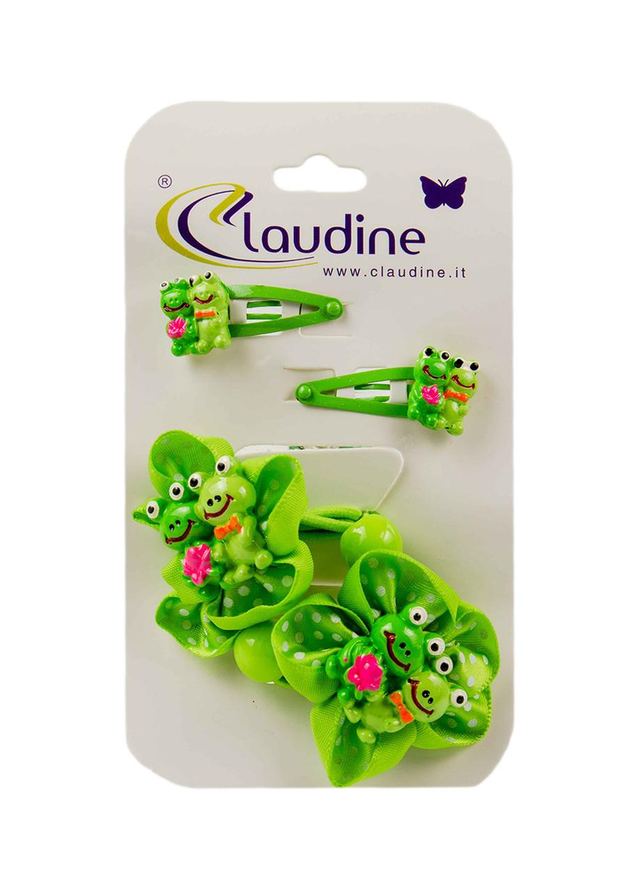 Набор резинок и заколок для волос Claudine (4шт)