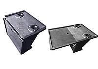 Фурнитура Vulkan. Подставка УКБ на 2 удилища+столик складной