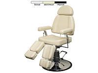 Педикюрное кресло  с гидравлической регулировкой высоты   мод. 227В-2 ( Белый / Бежевый / Черный )