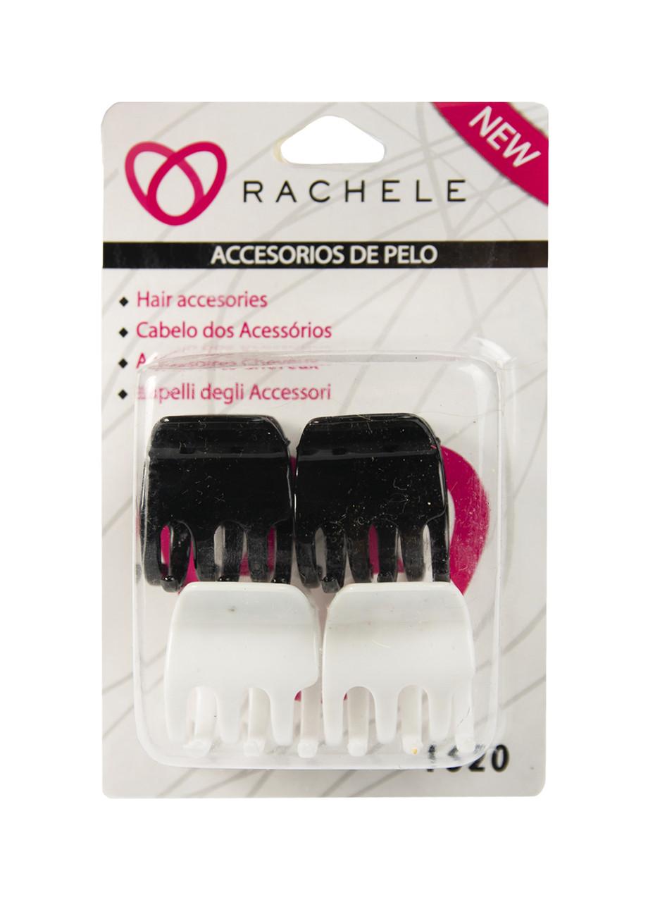 "Заколка для волос ""Краб"" Rachele 4шт 4х3,5см"