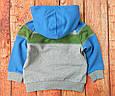 "Кофта-толстовка для мальчика на рост 80 и 86 см., бренд ""Iana"", код 1819, фото 3"