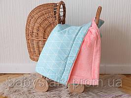 """Пледи в коляску для зими """"Трикутники"""""""