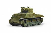 200-01 Танк М4А2 Sherman Умная бумага Сборная модель из картона
