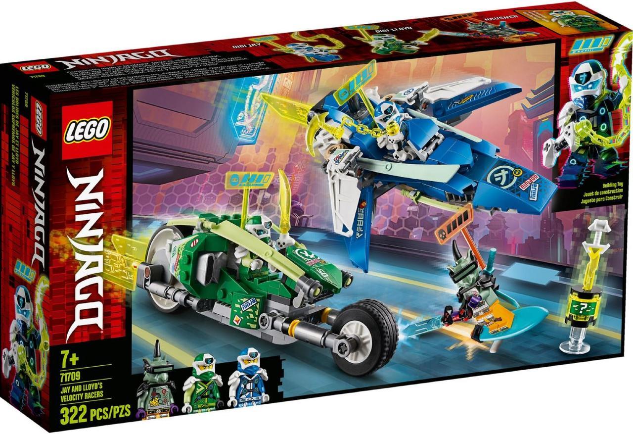 Lego Ninjago Скоростные машины Джея и Ллойда 71709