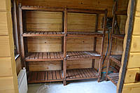 Стеллажи деревянные для дома