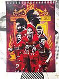 Блокнот с символикой FC Liverpool., фото 2