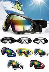 Вело / мото / спортивная / горнолыжная / лыжная солнцезащитная маска