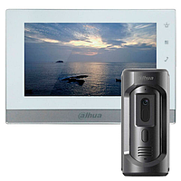 Dahua DHI-VTH1550CH-S2 и DHI-VTO2101E-P-S1 комплект IP видеодомофона