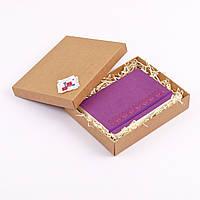 """Блокнот Ладна """"Орнамент Дубочки"""" А5 фіолетовий, фото 1"""