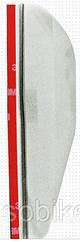Комплект авто козирків від дощу на дзеркало заднього виду ЛІВИЙ+ПРАВИЙ (2 КОЛЬОРИ) ПРОЗОРИЙ