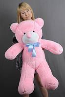 """Мягкая игрушка плюшевый мишка """"Нестор"""" розовый 100см"""