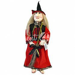Кукла оберег Баба Яга «Исполняет желания», h-62 cм.
