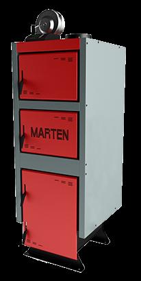 Котел твердотопливный  Marten Comfort MC-20. Бесплатная доставка!