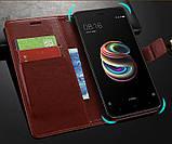 Чехол - книжка для Xiaomi Redmi 8 / Redmi 8A Цвет Чёрный, фото 3