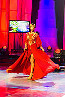Наталія Турбіна. Сукня шифонова з вишивкою.