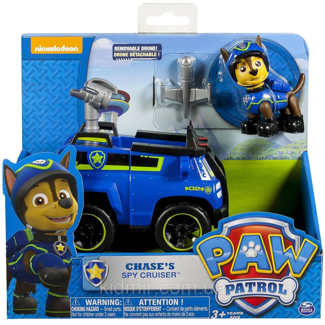 Щенячий патруль Гонщик Чейз і вантажівка Paw Patrol Chase Spin Master